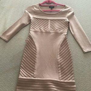 Bebe blush color dress